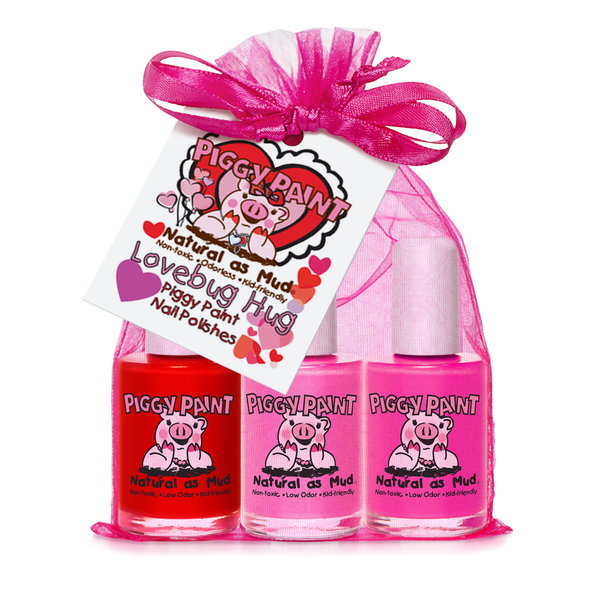 Piggy Paint Set Lovebug Hug