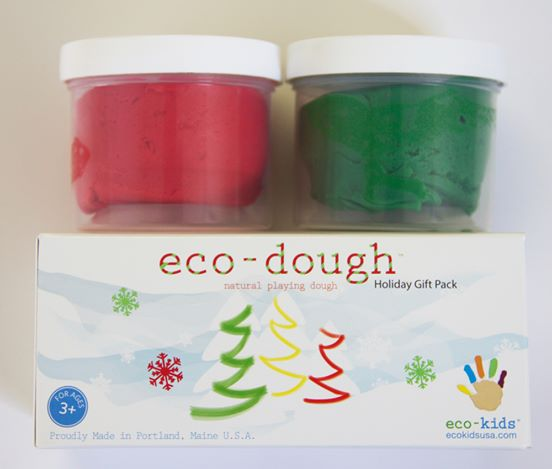 Eco-Kids Eco-Dough Holiday Pack