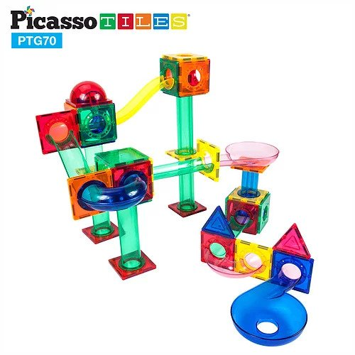 Picasso Tiles 70 piece Marble Run PTG70