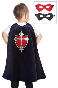 PRE-ORDER Little Adventures Prince Cape and Mask Set $20.00