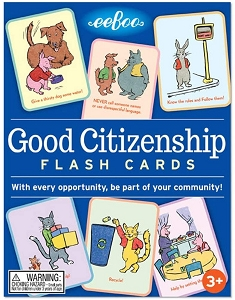 eeBoo Conversation Cards: Good Citizenship