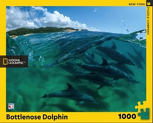 National Geographic Bottlenose Dolphins 1000 Piece Puzzle