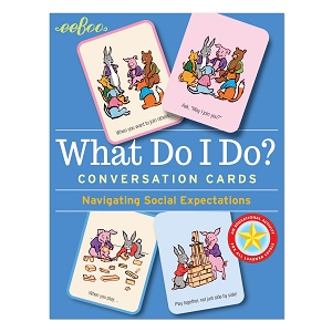 eeBoo Conversation Cards: What Do I Do?