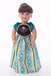 IN-STOCK Little Adventures DOLL Dress Scandinavian Princess Coronation
