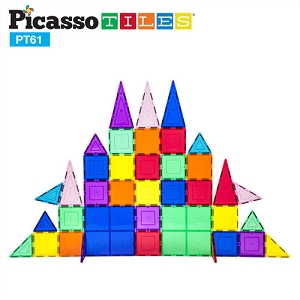 Picasso Tiles 61 piece set PT61