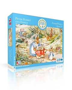Peter Rabbit & Family 48 piece Floor Puzzle
