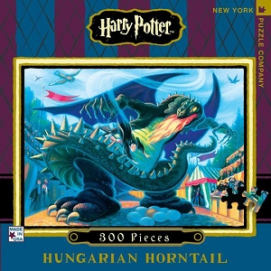 Harry Potter Hungarian Horntail 300 piece puzzle