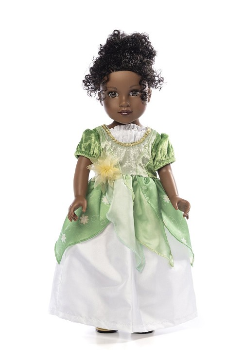 IN-STOCK Little Adventures DOLL Dress Lily Pad Princess
