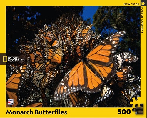 National Geographic Monarch Butterflies 500 Piece Puzzle
