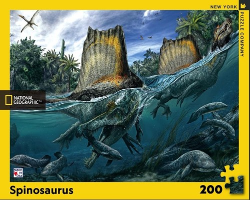 National Geographic Spinosaurus 200 Piece Puzzle