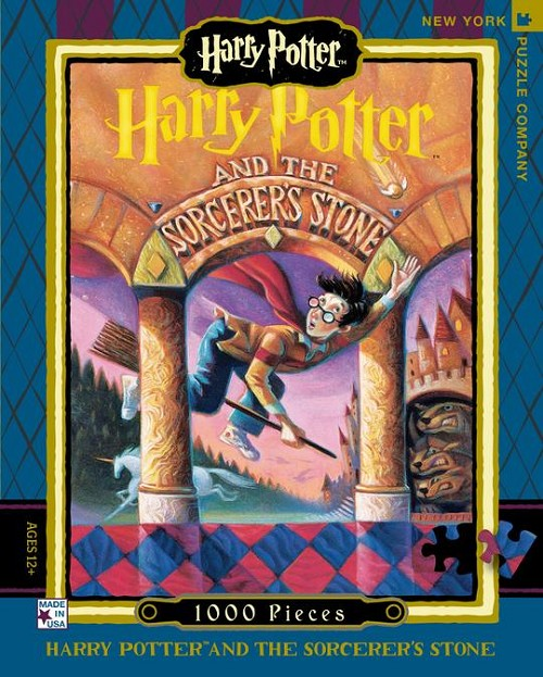 Harry Potter Sorcerer's Stone 1000 piece puzzle